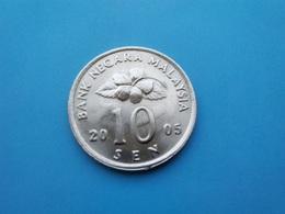 MALAISIE   - 10  Sen   2005   -- SPL --   Malaysia - Malaysia
