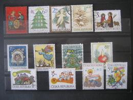Tschechische Republik- 13 Briefmarken Gebraucht - Czech Republic