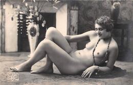 ¤¤    -   Carte-Photo D'une Femme Nue    -  Seins Nus     -  ¤¤ - Fine Nudes (adults < 1960)