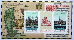 Denmark 2020 Europa. Ancient Postal Routes   MiNr.2014-16 Block 76  MNH (**)   ( Lot Mappe) - Nuovi