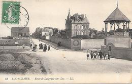 14      Luc Sur Mer        Route De Langrune - Luc Sur Mer