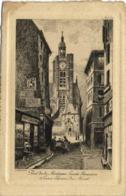 Gravure Rue De La Montagne  Ste Genevieve Saint  Etienne Du Mont RV - Arrondissement: 05