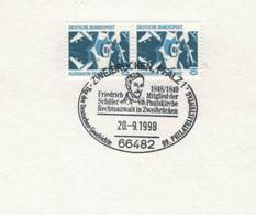 Friedrich Schüler War Ein Deutscher Jurist Und Demokratischer Politiker - 66482 Zweibrücken Pfalz 1998 - Karl Marx
