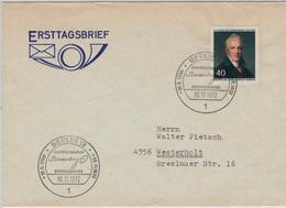 Karl August Von Hardenberg, Ab 1814 Fürst Von Hardenberg War Ein Preußischer Staatsmann - Novalis 1 Berlin 1972 - Karl Marx