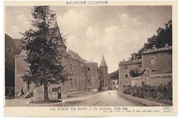 Saou. Le Coté Est Du Chateau De Saou. - Frankreich