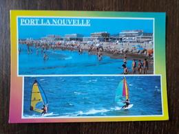 L27/1173 PORT La NOUVELLE . Le Front De Mer Et La Plage - Port La Nouvelle