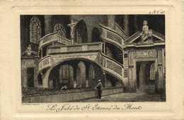 Gravure Le Jubé De St Etienne Du Mont RV - Arrondissement: 05