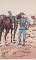 CHASSEURS A CHEVAL N°238 Illustrateur Pierre Albert LEROUX (1890-1959) - Uniformen