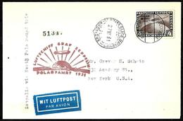 460 - GERMANY - 1931 - ZEPPELIN NORTH POLE FLIGHT - COVER - FORGERY - FAUX - FAKE - FALSE - FALSCH - Non Classés