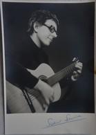 Photo Autographe SOEUR SOURIRE Singer Chanteuse Bruxelles 1933 Wavre 1985 Dominique Billboard - Autographes