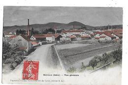 38  - CPA  Colorisée  De   MOIRANS  -  Vue  Générale  Et  Les  Usines  En  1908 - Moirans