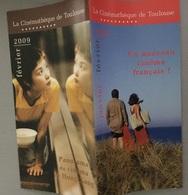 Plaquette : Panorama Cinéma De Hong Kong / Nouveau Cinéma Français ?, Programme Cinémathèque Toulouse, Janv. & Fév. 2009 - Revistas