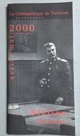 Plaquette : Staline / Bresson, Programme Cinémathèque Toulouse, Avril-Mai 2000 - 44 Pages - Revistas