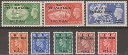 Tripolitania B.A.1951 SaN°27-34 8v Cpl MNH/** - Tripolitaine