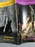 Plaquette : Rock & Cinéma / Cinéma De Plein Air, Programme Cinémathèque Toulouse, Juin-Juil. 2009 - 70 Pages - Revistas