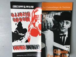 Plaquette : Cinéastes D'un Seul Film / Extrême Cinéma, Mon, Programme Cinémathèque Toulouse, Avril  2007 - 60 Pages - Revistas