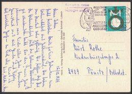 IC65   Germany BEARS ANIMALS NATUR MUSEUM COBURG Special Postmark 1979 - Bären