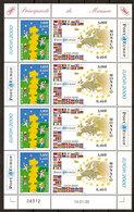 """(Fb).Monaco.2000.""""Europa 2000"""".Minifoglio Nuovo,gomma Integra,MNH (75-20) - Monaco"""