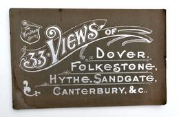 33 Views Of Dover, Folkestone, Hythe, Sandgate, Canterbury - Circa 1895, Wyndham Series - Photography