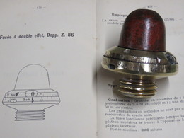 FUSEE DOPP Z 86 A DOUBLE EFFET POUR OBUS ALLEMAND 1914/18 !!! - 1914-18