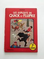 QUICK ET FLUPKE SERIE N°7 ( TINTIN) - Quick Et Flupke