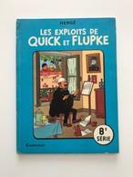 QUICK ET FLUPKE SERIE N°8 ( TINTIN) - Quick Et Flupke