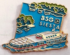 BATEAU - NAVIRE - BSG - SIESTA - N° 265 - LAC DE BIENNE - SUISSE - SWISS - SCHWEIZ - BIELERSEE - LAGO DI BIENNA -  (25) - Boats