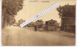 "LANAKEN-LANAEKEN "" TOURNE-BRIDE MET TWEE STOOMTRAMS""UITG.VALKENBORG - Lanaken"