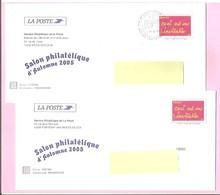 """2005. Lot 2 PAP De Service : INVITATION Premier Jour. """" Salon Philatélique Automne 2005 """" . (Y&T N°3760). Circulés. - Ganzsachen"""