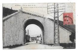 38  - CPA  PIONNIERE  De   MOIRANS  - Pont  Du  Chemin  De  Fer  En  1903 - Moirans