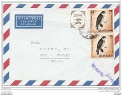 37-55 - Enveloppe Avion Envoyée De Baghdad En Suisse - Iraq
