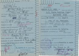1942 LERO ISOLA EGEO 3 ANNULLI CENTRO RADIO RICEVENTE - 1900-44 Vittorio Emanuele III