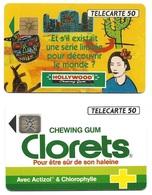 L18e) 2 Télécartes (50) France 1992 - France