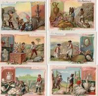 PHOSCAO Les Mineraux 6 Chromos - Autres
