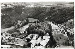 SAINT-MARTIN-la-SAUVETE (42) Vue Aérienne Sur Le Château D'Aix Cim, Cpsm Pf, Envoi 1961 - Frankreich