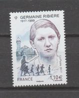 FRANCE / 2017 / Y&T N° 5129 ** : Germaine Ribière X 1 - Nuevos