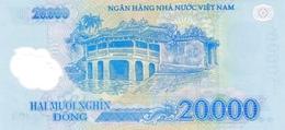 Vietnam P.120f 20000 Dong 2014 Unc - Vietnam