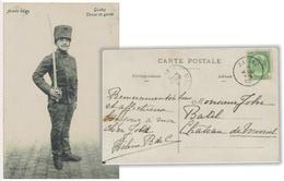 C00191 SOLDADO. JULIO DE 1906. BÉLGICA - Maximum Cards