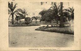 BRAZZAVILLE PLACE SAVORGNAN DE BRAZZA TIMBRE NO 51 YT - Brazzaville