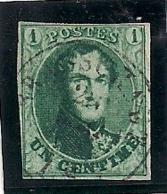 """NR.9-AFSTEMPELING """"BRASSCHAET"""" RR!! - 1858-1862 Médaillons (9/12)"""