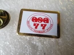 PIN'S    ASA 77  PONTAULT COMBAULT - Rallye