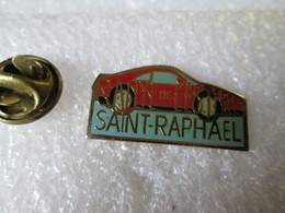 PIN'S    RALLYE DE L ESTEREL   SAINT  RAPHAEL - Rallye