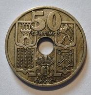 SPAIN 50 CENTIMOS 1949 *19 - 51. FLECHAS INVERTIDAS. ESPAGNE (1) - [ 4] 1939-1947 : Gobierno Nacionalista