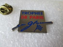 PIN'S    TROPHEE DE PARIS  SUR GLACE  Zamak - Rallye