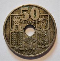 SPAIN 50 CENTIMOS 1949 *19 - 51. FLECHAS INVERTIDAS. ESPAGNE (2) - [ 4] 1939-1947 : Gobierno Nacionalista