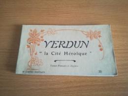CARNET VERDUN 1914-1918 24 CARTES - Verdun