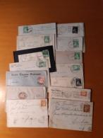 (14)  LOTTO DI  14 PEZZI   DI  STORIA POSTALE DI  PORTOGALLO - Poststempel (Marcophilie)