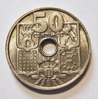 SPAIN 50 CENTIMOS 1963 *19 - 65. AUNCIRCULATED. ESPAGNE (1) - [ 4] 1939-1947 : Gobierno Nacionalista