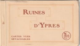 ***   RUINES D'YPRES Carnet De 10 Cartes Excellent éat - Ieper