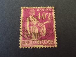 """1932-39   -  Oblitéré  N° 281    """" PAIX  ,  40c Parme  """"    Net     0.50   -   """"  Charentes Maritimes     """"   Photo   1 - 1932-39 Paix"""